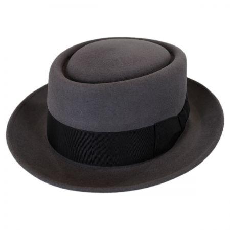 Stefano Mickey Fur Felt Pork Pie Hat