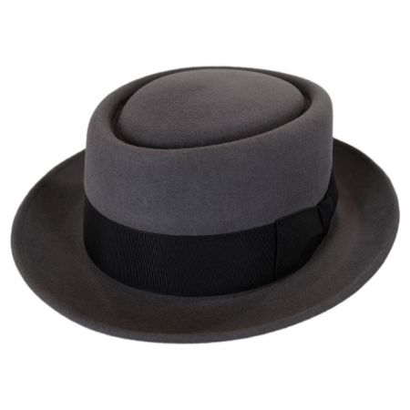 Stefeno Mickey Fur Felt Pork Pie Hat