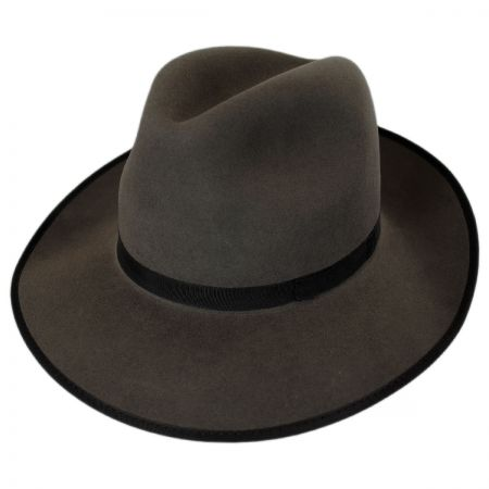 Stefano Jazzy Fur Felt Fedora Hat