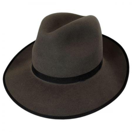 Stefeno Jazzy Fur Felt Fedora Hat