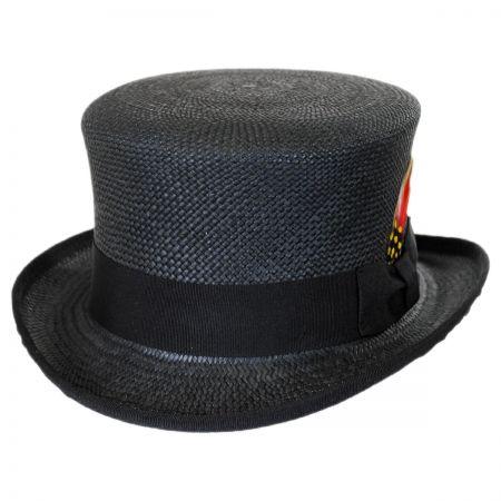 Capas Headwear Panama Straw Top Hat