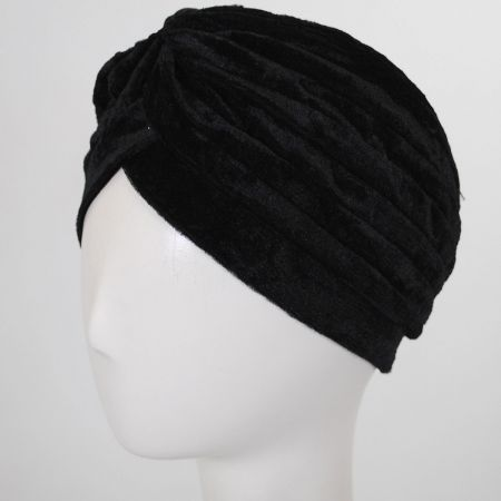Velvet Poly Turban alternate view 1