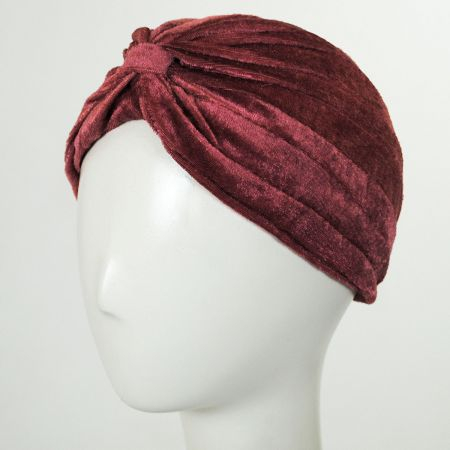 Velvet Poly Turban alternate view 7