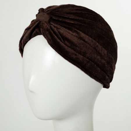 Velvet Poly Turban alternate view 3