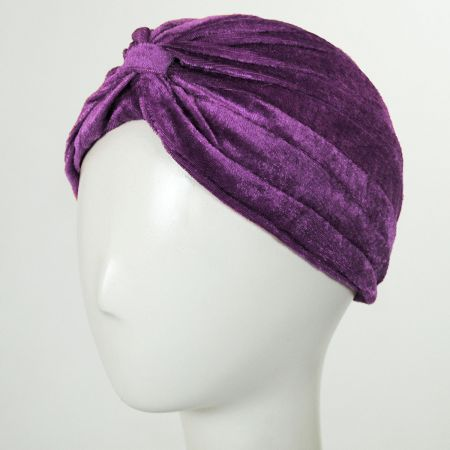 Velvet Poly Turban alternate view 9