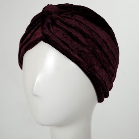 Velvet Poly Turban alternate view 5