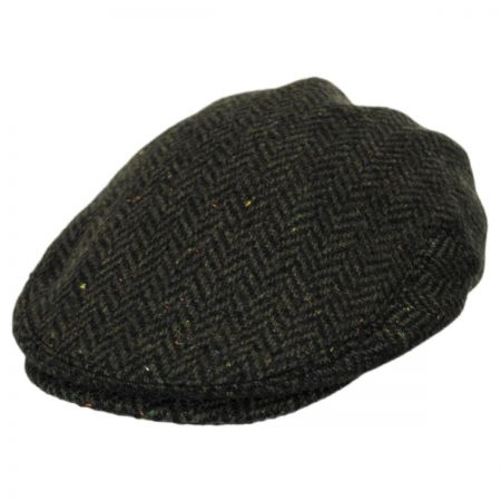 Jeanne Simmons Kids' Herringbone Wool Blend Ivy Cap