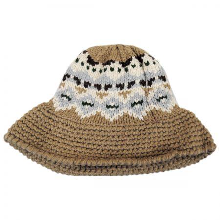 Fairisle Knit Bucket Hat alternate view 4