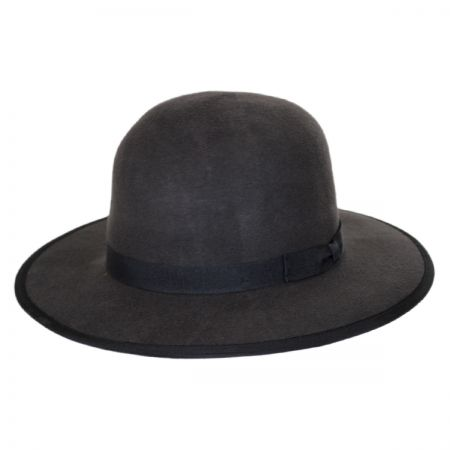 Brixton Hats Sonoma Wool Felt Open Crown Fedora Hat