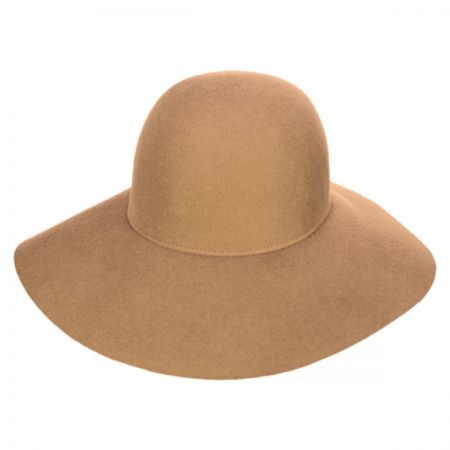 Betmar Wool Felt Floppy Hat