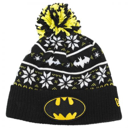 New Era DC Comics Batman Sweater Knit Beanie Hat