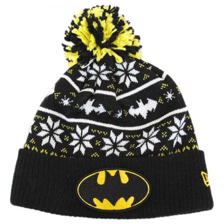 New Era DC Comics Batman Sweater Knit Beanie Hat