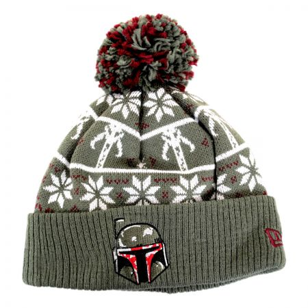 New Era Star Wars Boba Fett Sweater Knit Beanie Hat
