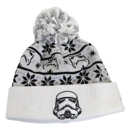 New Era Star Wars Stormtrooper Sweater Knit Beanie Hat