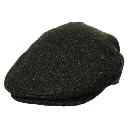 Jaxon Hats Cambridge Herringbone Wool Ivy Cap