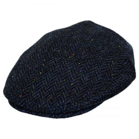 Jaxon Hats Cambridge Herringbone Wool Ivy Cap