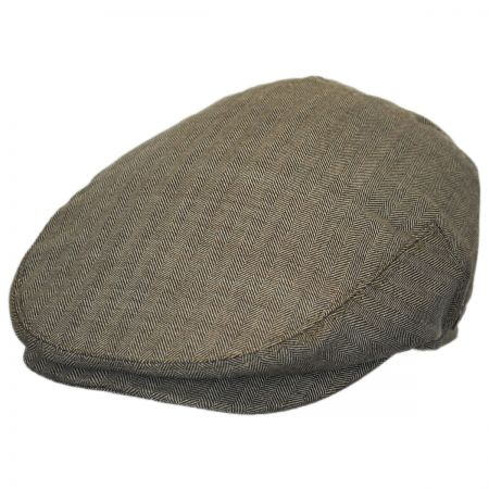 Jaxon Hats Mini Herringbone Wool Ivy Cap
