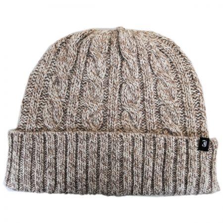 Jaxon Hats Classic Cuff Wool Blend Beanie Hat