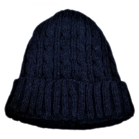 Kids' Cable Knit Beanie Hat