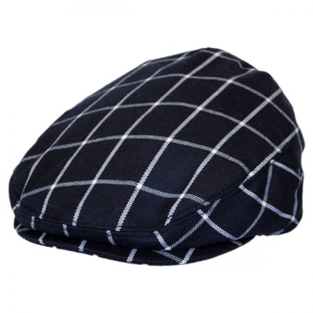 Jaxon Hats Baby Windowpane Wool Blend Ivy Cap