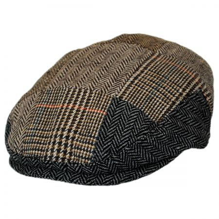 Jaxon Hats Baby Patchwork Wool Blend Ivy Cap