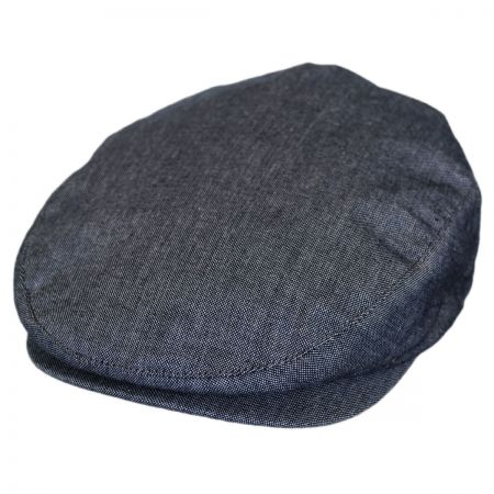 Brixton Hats Hooligan Chambray Cotton Ivy Cap - Light Blue