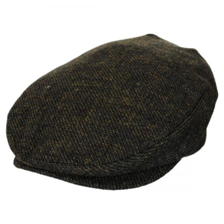 Brixton Hats Barrel Moss Tweed Wool Blend Ivy Cap