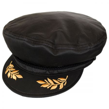 Weathered Cotton Admiral Cap
