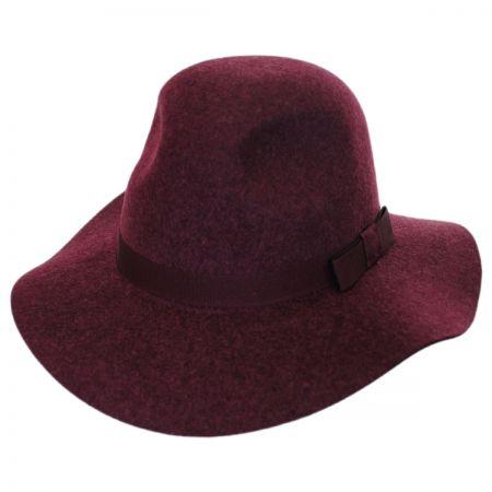 Brixton Hats Dalila Wool Felt Floppy Fedora Hat