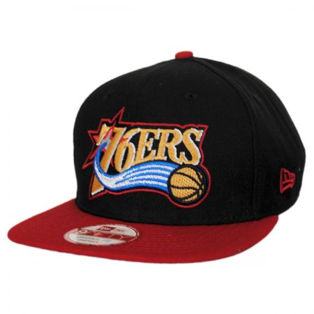 New Era Philadelphia 76ers NBA Hardwood Classics 9Fifty Snapback Baseball Cap