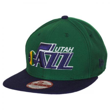 New Era Utah Jazz NBA Hardwood Classics 9Fifty Snapback Baseball Cap
