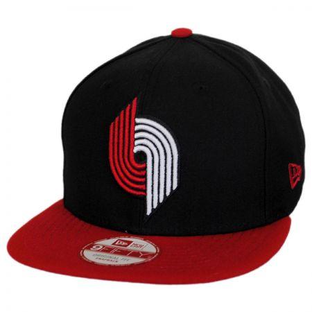 New Era Portland Trailblazers NBA Hardwood Classics 9Fifty Snapback Baseball Cap