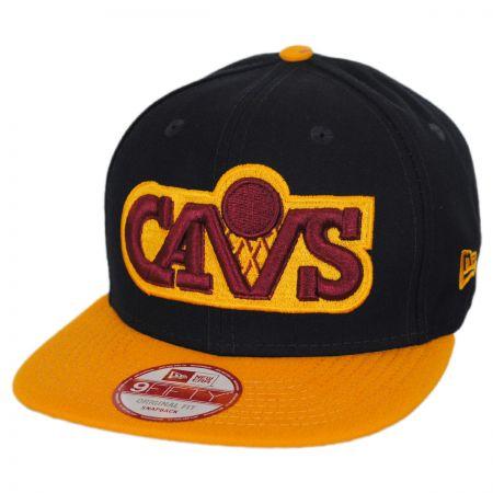 New Era Cleveland Cavaliers NBA Hardwood Classics 9Fifty Snapback Baseball Cap