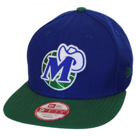 New Era Dallas Mavericks NBA Hardwood Classics 9Fifty Snapback Baseball Cap