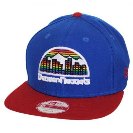 New Era Denver Nuggets NBA Hardwood Classics 9Fifty Snapback Baseball Cap