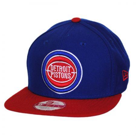 Detroit Pistons NBA Hardwood Classics 9Fifty Snapback Baseball Cap alternate view 1