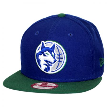 New Era Minnesota Timberwolves NBA Hardwood Classics 9Fifty Snapback Baseball Cap