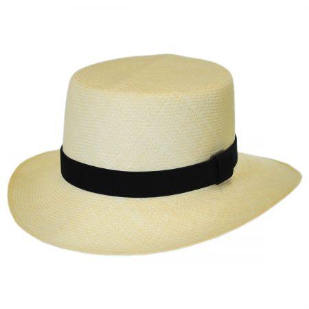 Jaxon Hats Montecristi Fino Grade 20 Panama Straw Hat
