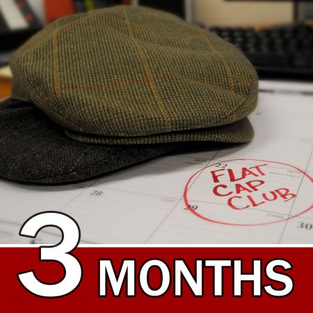 Village Hat Shop CANADA 3 Month Flat Cap Club Gift Subscription