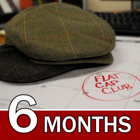 Village Hat Shop CANADA 6 Month Flat Cap Club Gift Subscription