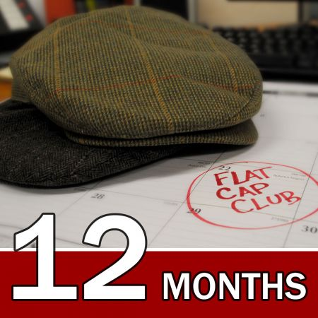 Village Hat Shop CANADA 12 Month Flat Cap Club Gift Subscription