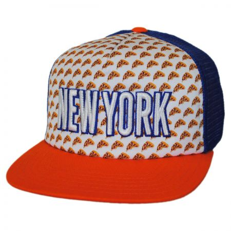 American Needle New York Grub Trucker Snapback Baseball Cap