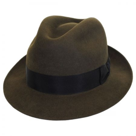 Stefano Ralph Fur Felt Fedora Hat