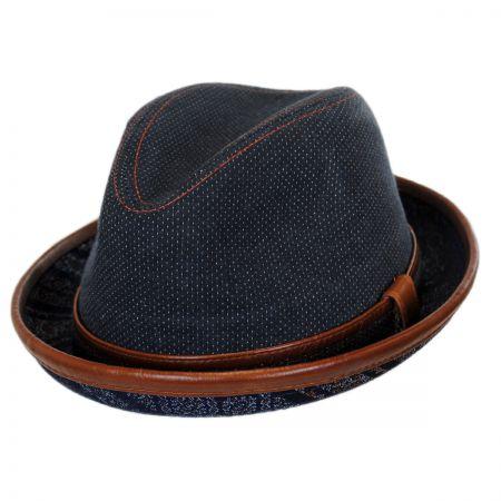 Carlos Santana Diego Cotton Trilby Fedora Hat