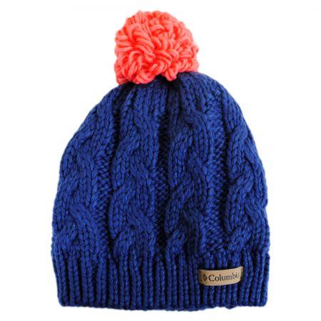 Columbia Sportswear Kids' In-Bound Pom Knit Beanie Hat