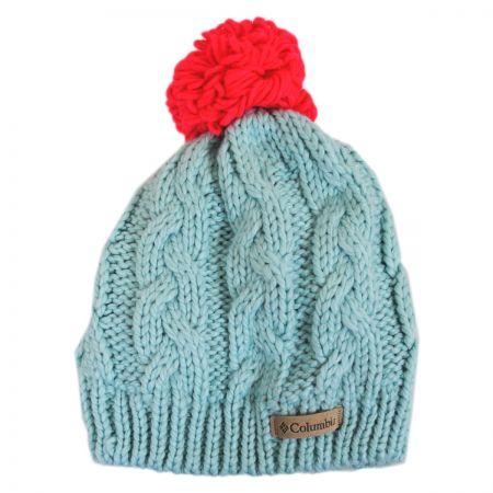 Kids' In-Bound Pom Knit Beanie Hat alternate view 2