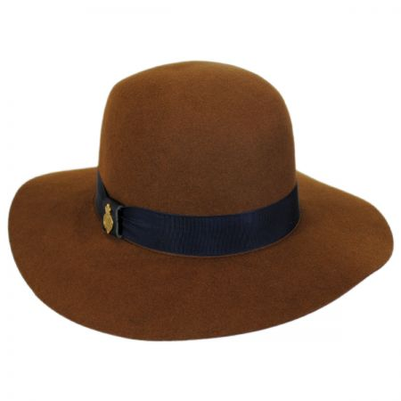 Alexa Fur Felt Wide Brim Hat alternate view 1
