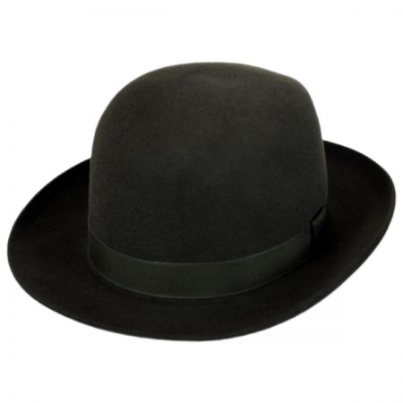 Foldaway Fur Felt Fedora Hat alternate view 1