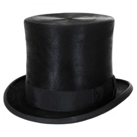 Christys' of London Tall Fur Felt Top Hat