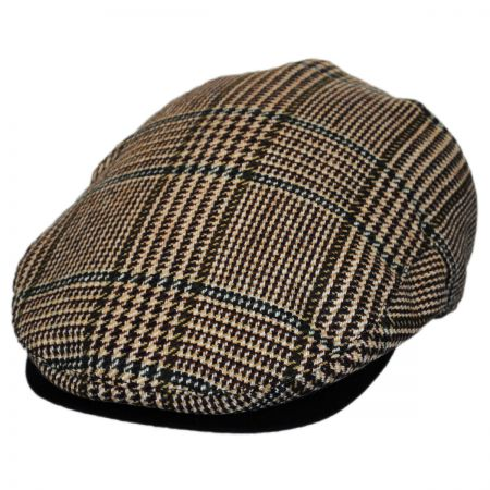 Christys' of London Brighton Driver Wool Ivy Cap